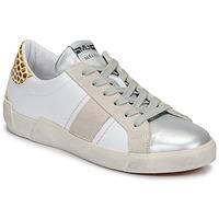 Scarpe Donna Sneakers basse Meline NK1381 Bianco / Beige