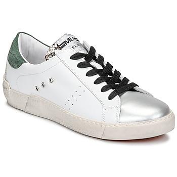 Scarpe Donna Sneakers basse Meline NKC1392 Bianco / Verde