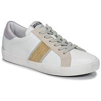 Scarpe Donna Sneakers basse Meline KUC1414 Bianco / Oro