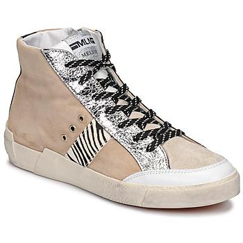 Scarpe Donna Sneakers basse Meline NK1384 Beige / Zebra