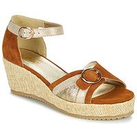 Scarpe Donna Sandali Sweet ESTERS Oro / Camel