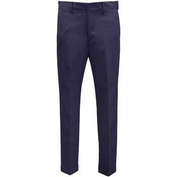 Abbigliamento Uomo Pantaloni da completo Be Able Pantalone in lana - Blu