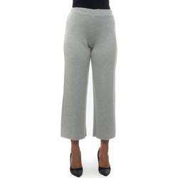 Abbigliamento Donna Pantaloni morbidi / Pantaloni alla zuava Maria Bellentani 2120-6006183 Grigio chiaro