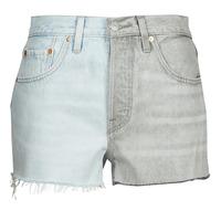 Abbigliamento Donna Shorts / Bermuda Levi's ICE BLOCK Blu / Grigio