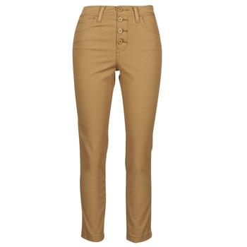 Abbigliamento Donna Pantaloni 5 tasche Levi's SOFT CANVAS TOASTED COCONUT OD Beige