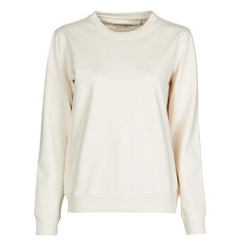 Abbigliamento Donna Felpe Lee SUSTAINABLE SWS ECRU MELE Bianco