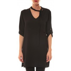 Abbigliamento Donna Abiti corti La Vitrine De La Mode Robe 156 By La Vitrine Noire Nero