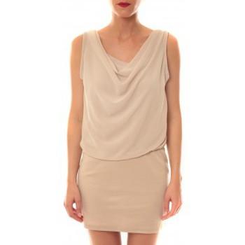 Abbigliamento Donna Abiti corti La Vitrine De La Mode Robe 157 By La Vitrine Beige Beige