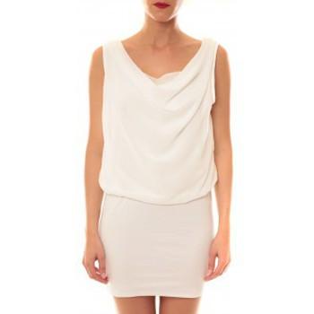 Abbigliamento Donna Abiti corti La Vitrine De La Mode Robe 157 By La Vitrine Blanc Bianco