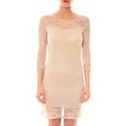 Abbigliamento Donna Abiti corti La Vitrine De La Mode Robe 158 By La Vitrine Taupe Marrone