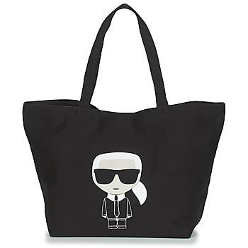 Borse Donna Tote bag / Borsa shopping Karl Lagerfeld K/IKONIK KARL TOTE Nero