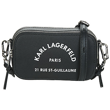 Borse Donna Tracolle Karl Lagerfeld RUE ST GUILLAUME CAMERA BAG Nero