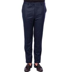 Abbigliamento Uomo Chino C.c. Corneliani 68111/12/5R05 4R BLU Pantalone Uomo Uomo Blu Blu