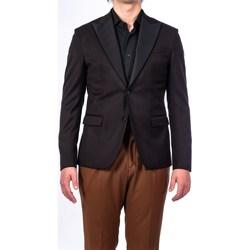 Abbigliamento Uomo Giacche / Blazer Alessandro Dell'acqua AD2064BR/G0192E 80 Giacca Uomo Uomo Nero Nero