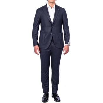 Abbigliamento Uomo Completi Lubiam Sartoria 03191/2 3175 Abito Uomo Uomo Blu Blu