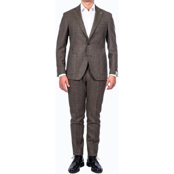 Abbigliamento Uomo Completi Lubiam Sartoria 03041/3 2175+8487/9 Abito Uomo Uomo Verde Verde
