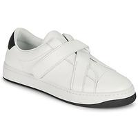 Scarpe Donna Sneakers basse Kenzo ENZO KOURT SCRATCH SNEAKERS Bianco