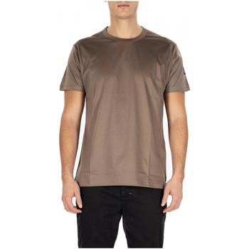 Abbigliamento Uomo T-shirt maniche corte Berna T-SHIRT FILO DI SCOZIA fango