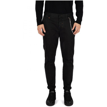 Abbigliamento Uomo Chino Berna PANTALONE CHINO nero