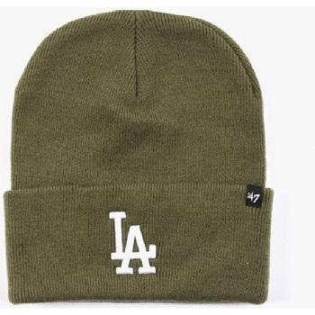 Accessori Uomo Berretti 47 Brand '47 Berretto Haymaker Cuff Knit Los Angeles Dodgers                           verde