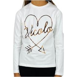 Abbigliamento Bambina T-shirt maniche corte Vicolo 3141M0545 T-shirt Bambina PANNA PANNA