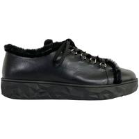 Scarpe Donna Sneakers basse 7:am SNEAKERS IN PELLE Nero