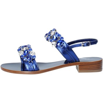 Scarpe Donna Sandali Eddicuomo Sandalo Donna Blu