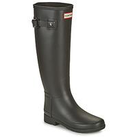 Scarpe Donna Stivali da pioggia Hunter ORIGINAL REFINED Nero