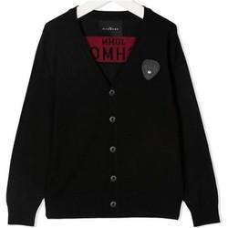 Abbigliamento Bambino Gilet / Cardigan John Richmond RIA20069CD Nero