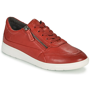Scarpe Donna Sneakers basse Jana PHOEBIA Rosso