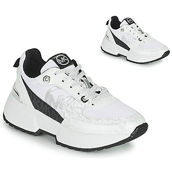 Scarpe Bambina Sneakers basse MICHAEL Michael Kors COSMO SPORT Bianco / Nero