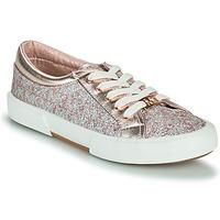 Scarpe Bambina Sneakers basse MICHAEL Michael Kors IMA TINSEL Rosa / Oro / Argento