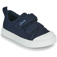 Scarpe Unisex bambino Sneakers basse Clarks CITY BRIGHT T Marine
