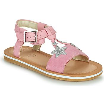 Scarpe Bambina Sandali Clarks FINCH SUMMER K Rosa