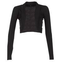 Abbigliamento Donna Gilet / Cardigan Morgan MOLU Nero