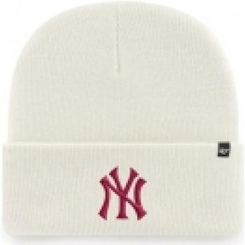Accessori Berretti 47 Brand '47 Berretto Haymaker Cuff Knit New York Yankees                           bianco