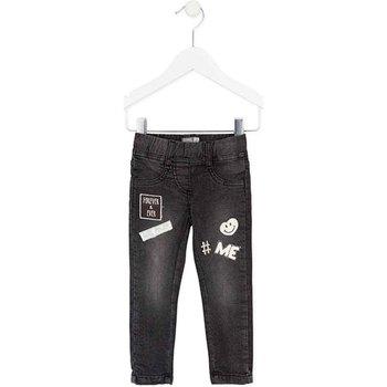 Abbigliamento Bambina Jeans slim Losan 726 6032AD Nero