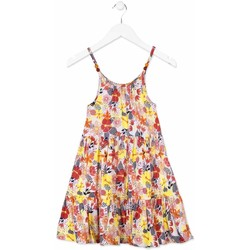 Abbigliamento Bambina Abiti corti Losan 814-7028AB Arancio