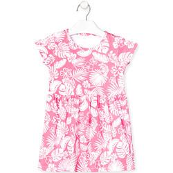 Abbigliamento Bambina Abiti corti Losan 018-7042AL Rosa