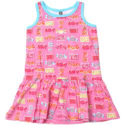Abbigliamento Bambina Abiti corti Losan 816-7044AD Rosa
