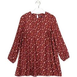 Abbigliamento Bambina Abiti corti Losan 024-7016AL Rosso