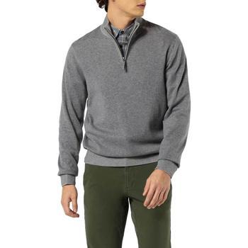 Abbigliamento Uomo Maglioni Dockers ALPHA PLAITED 1/4 ZIP B13 grigio