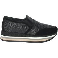 Scarpe Donna Sneakers basse Nina Capri IC-6 NERO