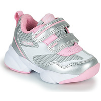 Scarpe Bambina Sneakers basse Primigi SUZZI Argento / Rosa