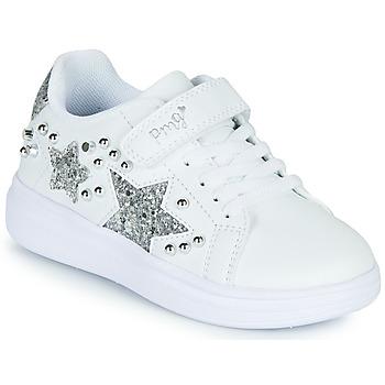 Scarpe Bambina Sneakers basse Primigi NOLLA Bianco / Argento