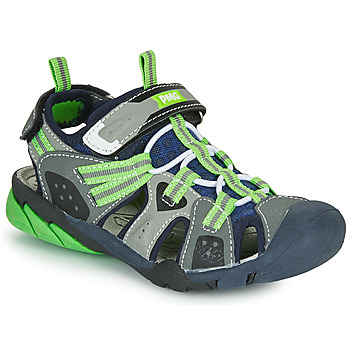 Scarpe Bambino Sandali sport Primigi ANATI Grigio / Verde