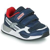 Scarpe Bambino Sneakers basse Primigi PETIT Marine / Rosso