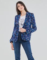 Abbigliamento Donna Giacche / Blazer Ikks BS40295-49 Marine