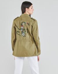 Abbigliamento Donna Giacche / Blazer Ikks BS41045-55 Verde / Pacifico