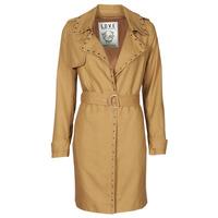 Abbigliamento Donna Trench Ikks BS42025-63 Nocciola